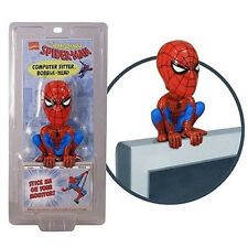 Marvel Comics Spiderman Computer Sitter Bobble Head Figure NEW Toys Funko