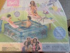 Vintage Barbie Splash n Slide Swimming Pool Happy Family ~ VERY RARE
