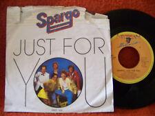 Spargo - Just for you / Fandango´s invitation      NL  CBS 45