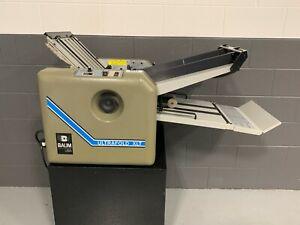 Refurbished Baum 714 XLT Paper Folder w/ Rebuild Kit Professionally Installed