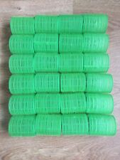 Set Of 24 Green Rollers
