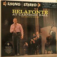 HARRY     BELAFONTE            LP       AT  CARNEGIE  HALL