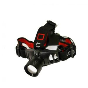 160 Lumen 3W High Powered Cree Zoom Head Lamp Torch Light Fishing Hunting