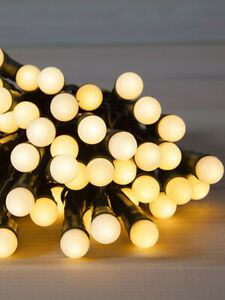 200LED 20.9M Warm White Berry Solar Christmas Party String Garden Lights