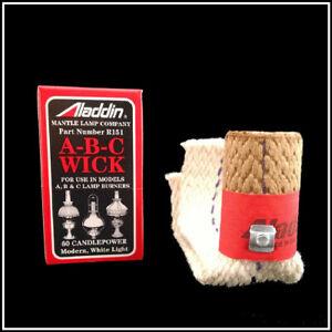 ALADDIN LAMP PART # R151 MODEL  A, B, C, WICK - NEW