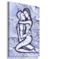 PAINTING DRAWING PEOPLE SEXY VISUAL ART PRINT Canvas Wall Picture  R27 MATAGA