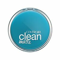 2pcs CoverGirl Clean Oil Control Pressed Powder Buff Beige W 525 0.35-oz Pan