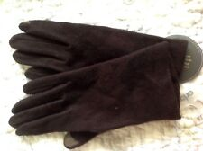 **XL Echo Touch Design Touch Screen iPhone iPad Cell Phone Gloves Zip Dark Brown