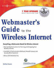 NEW Webmaster's Guide to the Wireless Internet