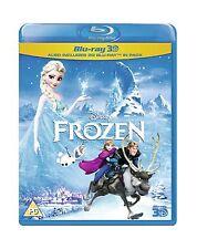 Frozen [Blu-ray 3D + Blu-ray] [Region Free] Free Shipping