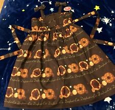 Cosplay Sweet Lolita Cute Kawaii JSK Dress with Donut Prints