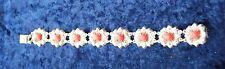 Silver Marcasite Bracelet Vintage Costume Jewellery