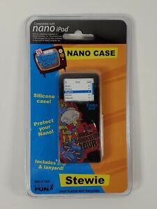 New Family Guy Stewie Apple IPod Nano Silicone Case with Lanyard