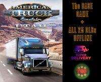 💎American Truck Simulator PC Full Version💎🔥All 25 DLCS🔥✅Digital File✅Offline