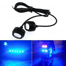 2X High Power 10k Blue COB LED Eagle Eye Underbody Car DRL Fog Light Motorcycle