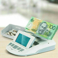 Ratiotec Australian Digital Note Coin Counter Scales Counting Machine