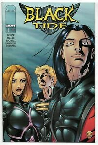 Black Tide #1 Image Comics 2001 VF+ Blue Cover