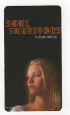 "Soul Survivors - Movie Promotional Card #4 (2001) Melissa Sagemiller [3.5"" x 6""]"