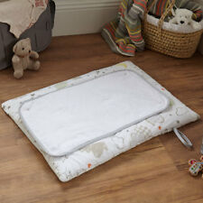 Clair de Lune Sleep Tight Roly Poly Travel And Changing Mat, White