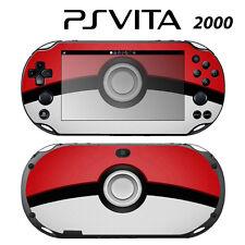 Vinyl Decal Skin Sticker for Sony PS Vita Slim 2000 Pokeball