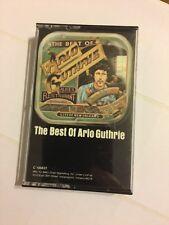 The Best of Arlo Guthrie Warner Bros. Records 1977 Audio Cassette 60s Folk Music