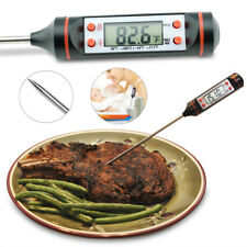 LCD Display Food Thermometer Probe DIY Temperature Sensor Kitchen Cooking Helper