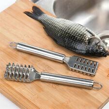 Edelstahl Fisch Fischschaber Entschupper Fischschuppenentferner nützlich #co