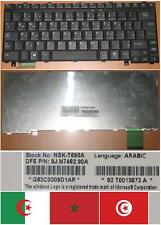 Arabic qwerty keyboard toshiba u300 u305 nsk-t690a 9j.n7482.90a