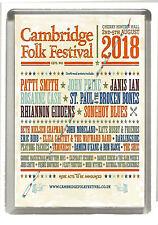 Cambridge Folk Festival 2018 - Fridge Magnet Large 90 mm x 60 mm