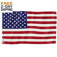 New listing American Flag 3x5 Ft Nylon Us Longest Lasting Emboriodered Stars Heavy Duty