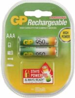 GP Batteries PROFI 2x AAA-Akku 950 mAh Series 1,2V Micro HR03 Batterie AAA Akku