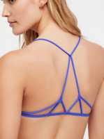 NEW Free People Intimately Prism Strappy Bra in Ultra Violet XS/S-M/L $26