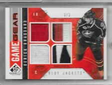 09-10 SP GAME USED GAME GEAR QUAD JERSEY PATCH FIGHT STRAP DERICK BRASSARD 3/3