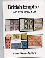 British Empire  A/C + P/R Stanley Gibbons February 1979