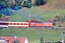 PHOTO  AUSTRIAN RAILWAYS LOCO DIESEL ON TOP LINE ST JEDOCK 1981