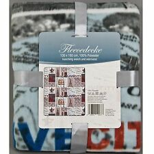 Decke Fleecedecke New York USA Amerika Wolldecke Fleece Kolder Kuscheldecke
