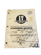 Iampt International Harvester Ih Parts Tractor Shop Manual Paperback Book Rare