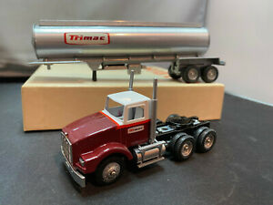 Winross Tri Mac Tractor Truck With Tanker Trailer 1/64 Diecast