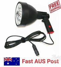 Powerful 12v 60W 150mm LED handheld Spotlight Spot Light Hunting/Camping 5400LM
