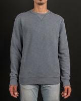Allsaints Men's  Wild Crew Lead Fade Out Sweatshirt - MF041E -New Brand