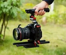 15mm Rod Rig Camera Video Cage Kit + Top Handle Grip for Sony A7 A7R A7S DSLR