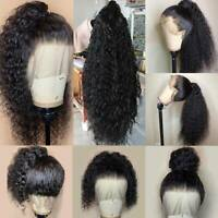 Fashion Pre Plucked 100% Indian Virgin Human Hair 360 Lace Front Wigs Hairline C