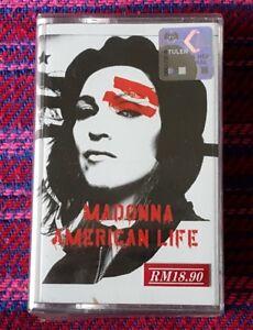Madonna ~ American Life ( Malaysia Press ) Cassette