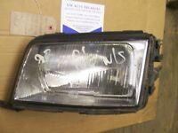 AUDI 100 1991-1994 LEFT HEADLAMP HEADLIGHT LIGHT LAMP 4A0941029A RHD ONLY