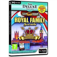 Misteri nascosti: Royal SEGRETI DI FAMIGLIA-Deluxe Edition (PC: Windows, 2012) - UE
