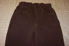 HAC TAC WOMANS SZ 4 DENIM JEANS RIDING BREECHES NEW BROWN