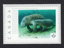 SEA COW, MANATEE WITH BABY  Picture Postage MNH stamp Canada 2015 [p15/7sn1]