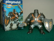 Playmobil Castle Knights - Black Colossus Warrior - Boxed.