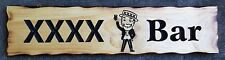 XXXX Bar Rustic Pine Timber Sign