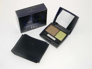 Dior 2 Couleurs Matte & Shiny Duo Eyeshadow 375 Tropical Look New In Box